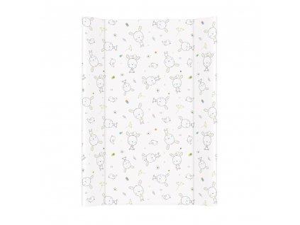 Přebalovací podložka měkká 70 cm Dream puntíky bílá
