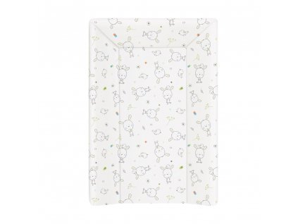 Přebalovací podložka měkká 3 hran. 70 cm Dream puntíky bílá