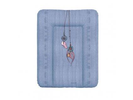 Podložka přebalovací na komodu měkká 70x50 cm Denim Style Dream Catcher blue Ceba