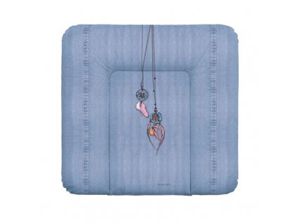 Podložka přebalovací na komodu měkká 75x72 Denim Style Dream Catcher blue Ceba