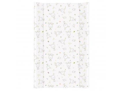 Přebalovací podložka MDF 80 cm Dream puntíky bílá