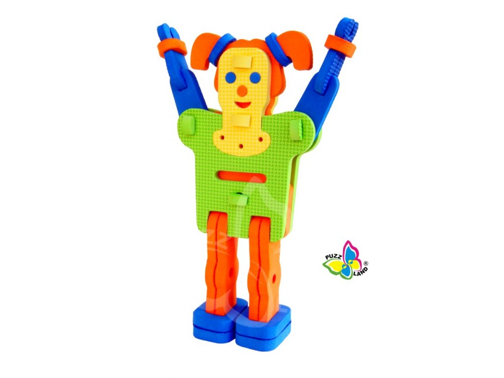 vyrp14 287e Vilma4 robot penove hracky puzzle