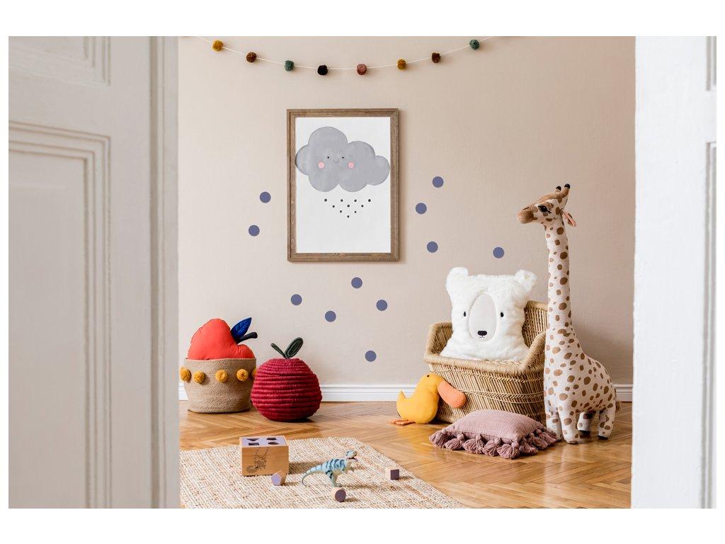 Nálepky na stěnu puntíky