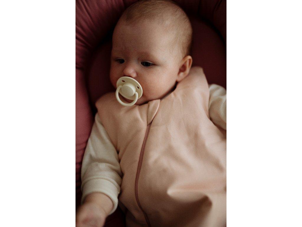 Spací pytel new born 0 6 měsíců Dusty Rose D0667