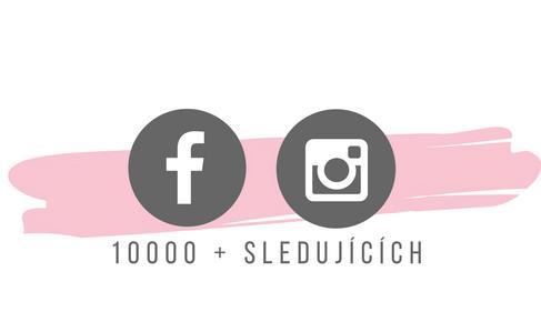 10000+ sledujicich na socialnich sitech
