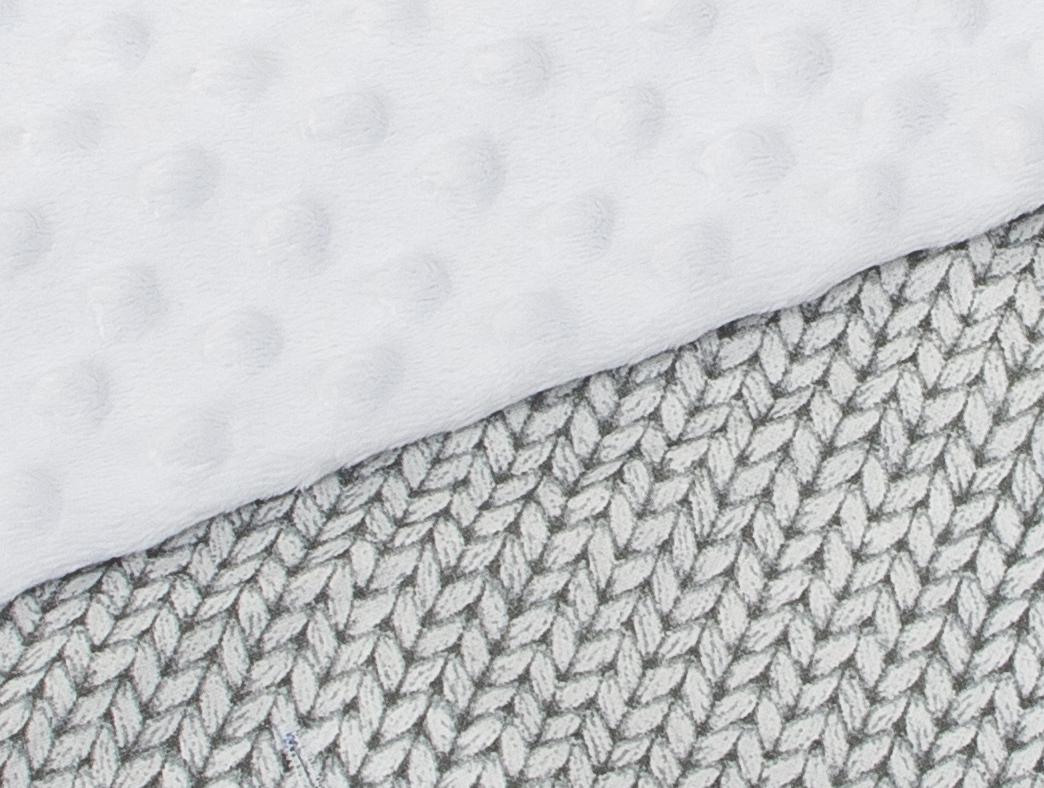 Minky bílá + svetřík