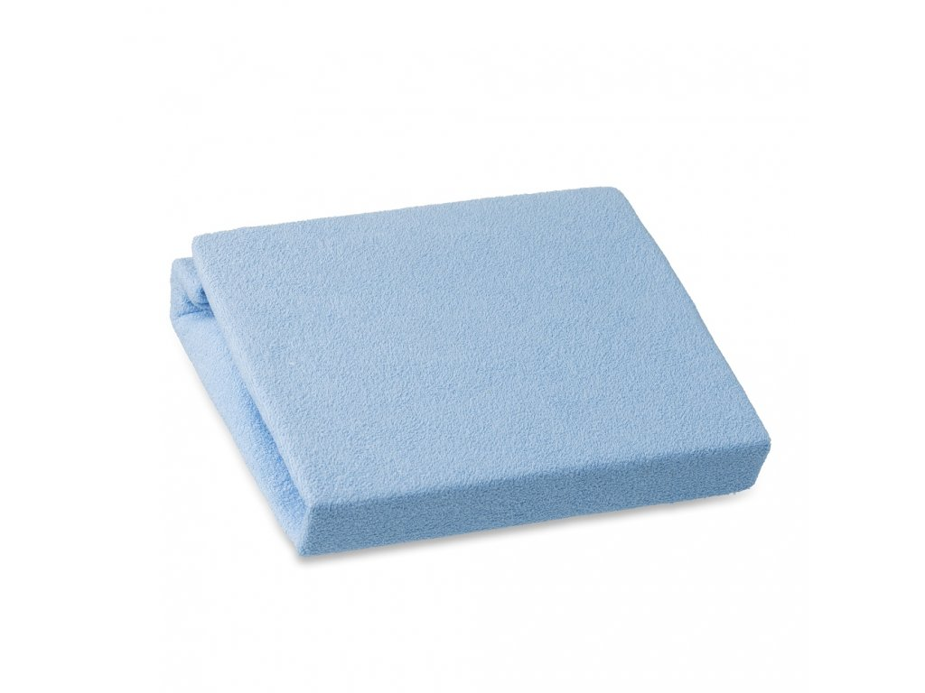 100875 miminu prosteradlo frote svetle modre 140x70 cm