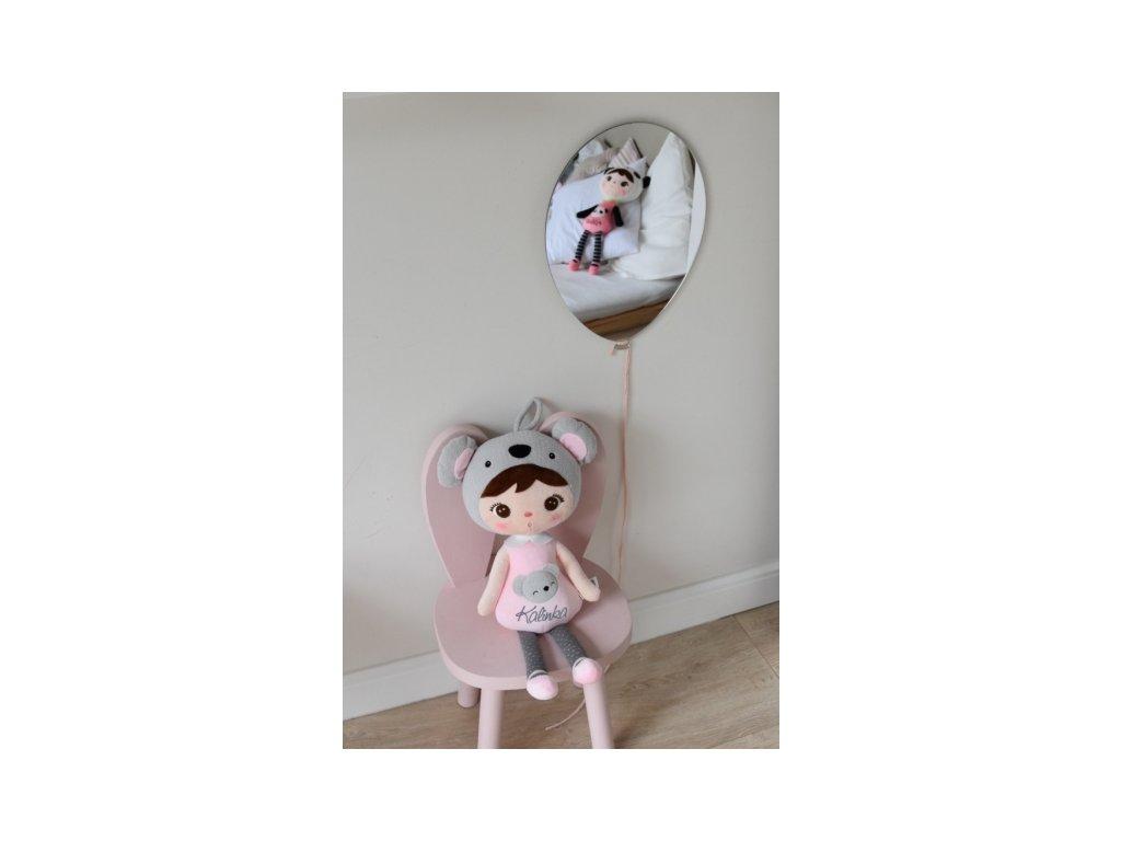 101861 zrcadlo metoo na zed balonek