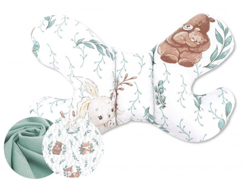 poduszeczka motylek velvet bawełna lulu natural