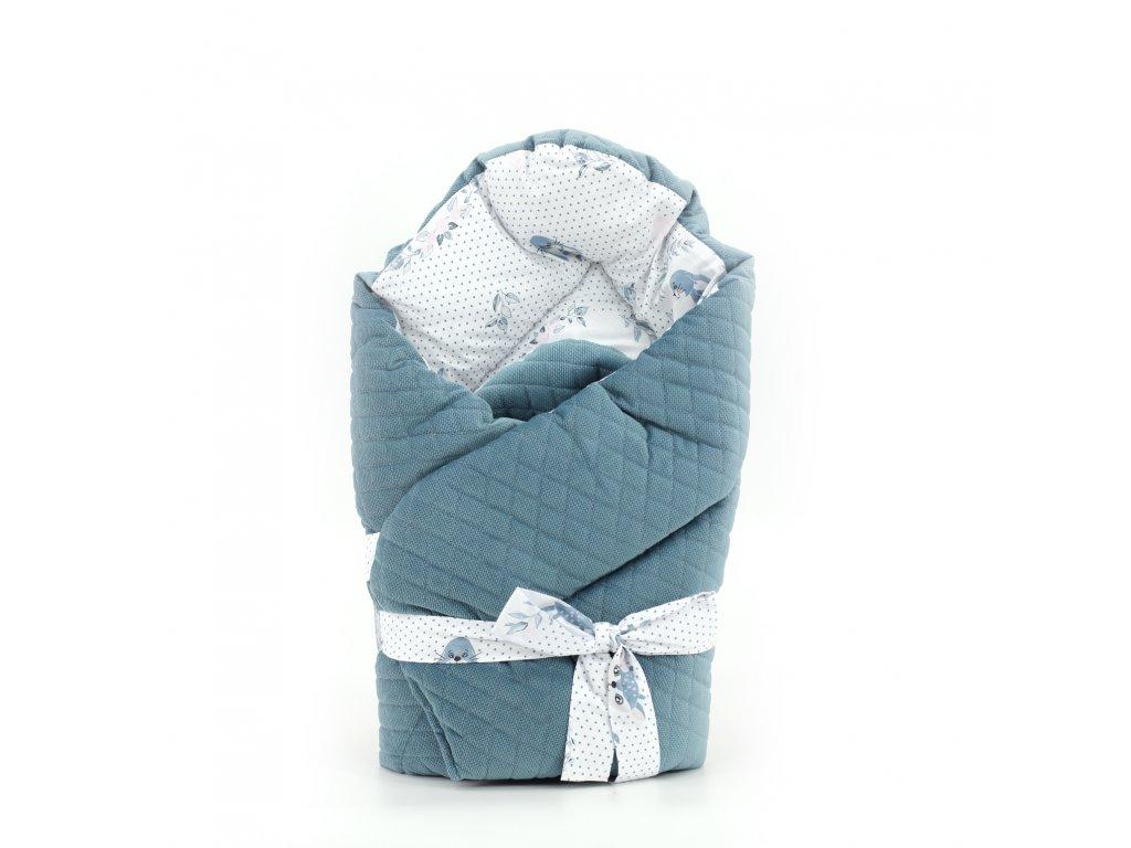 MimiNu Zavinovačka Kouzelné laně, modré