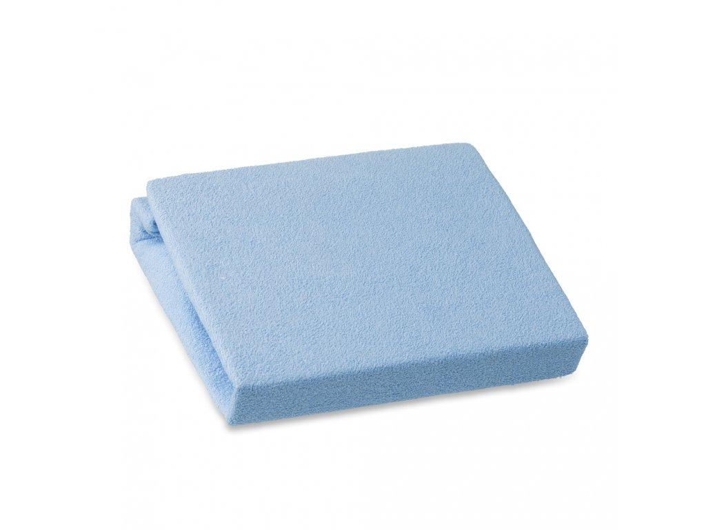 98602 miminu prosteradlo na prebalovaci pult 70 x 50 cm frote modra