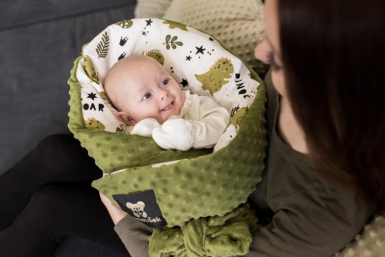 Jak zavinout miminko, aby bylo spokojené?