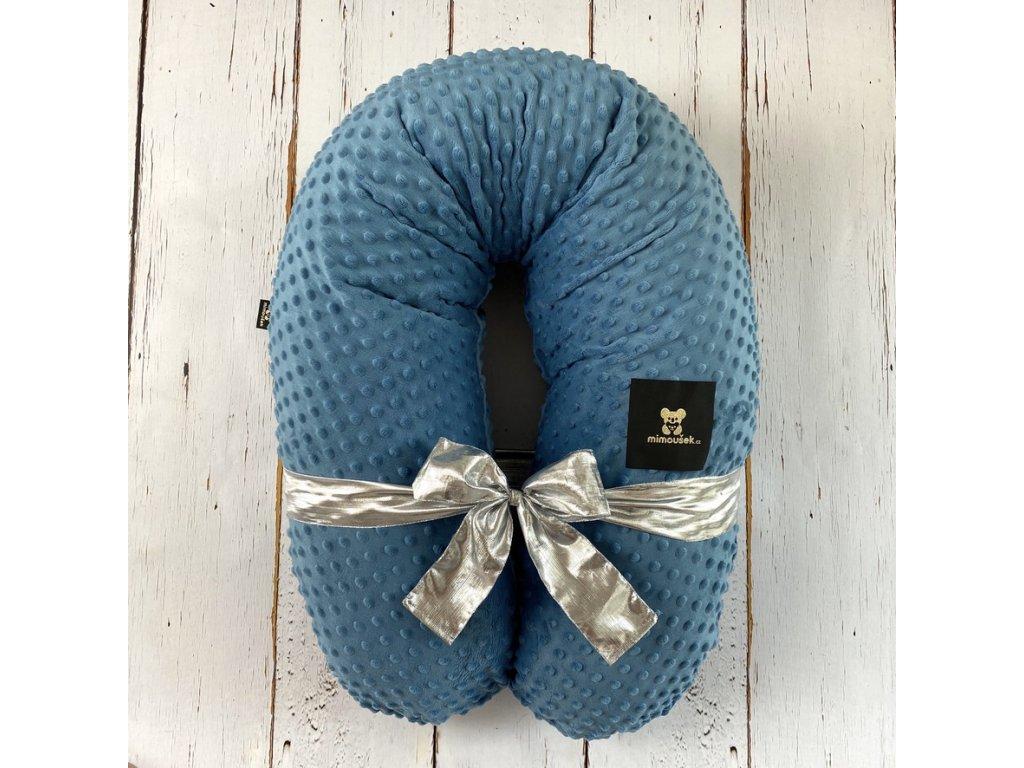 polštář na kojení Mimoušek mosaic blue