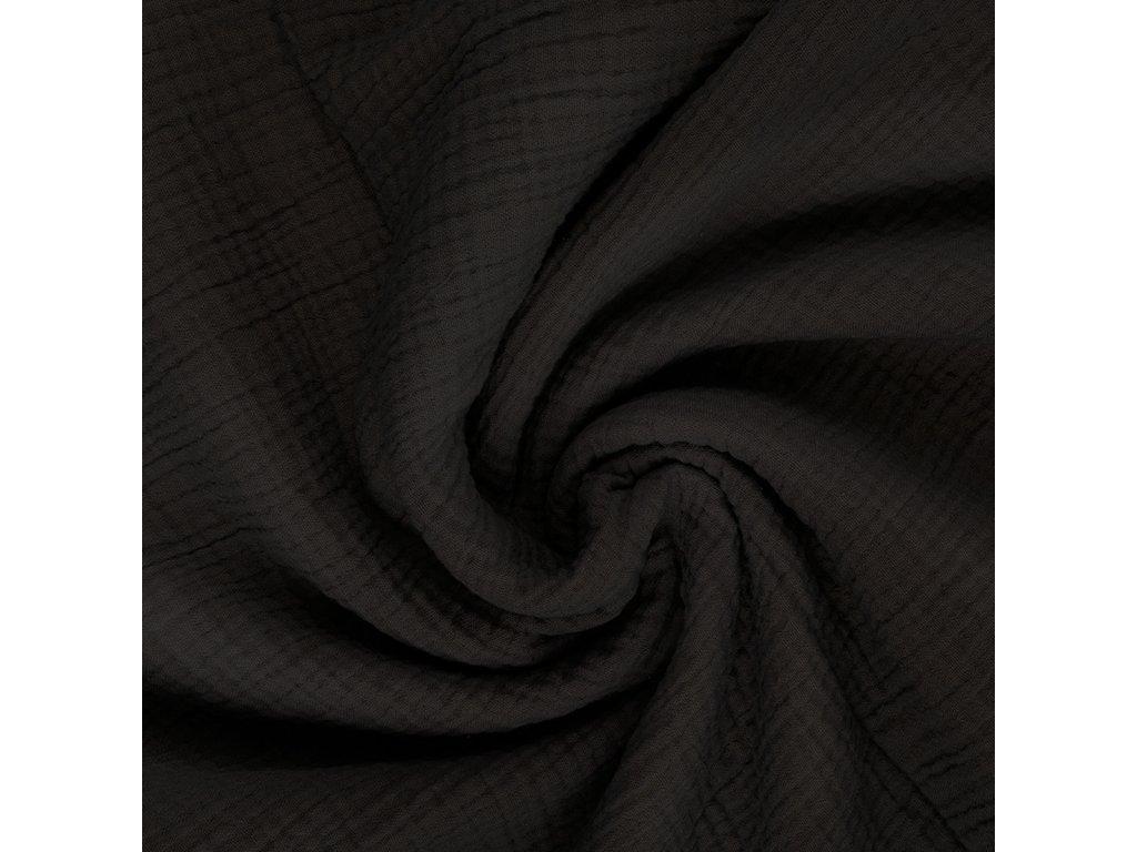 mušelín černá