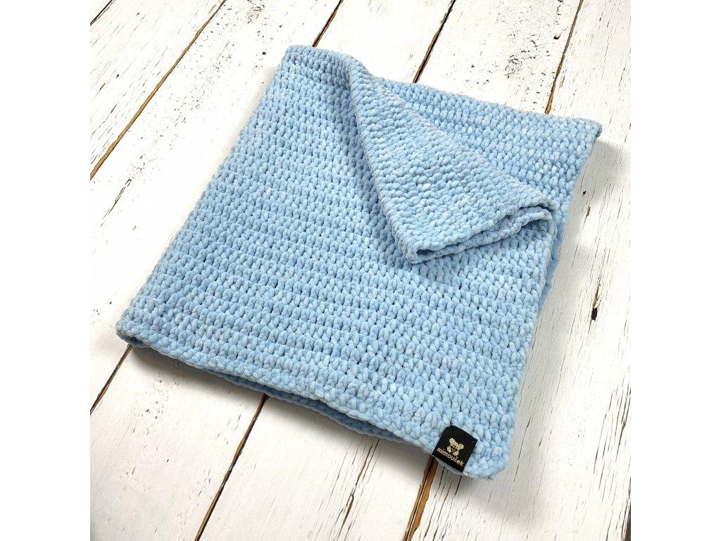háčkovaná deka pro miminka