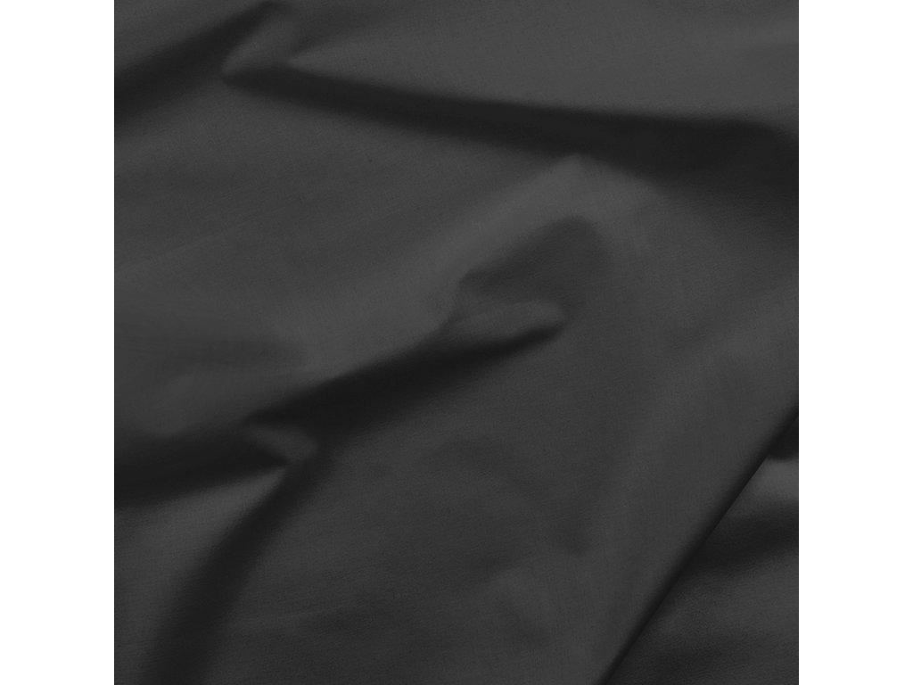 bavlněné plátno černé