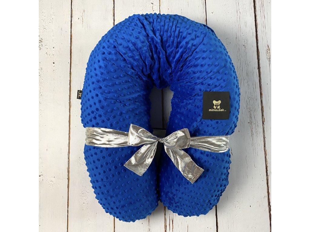 kojící polštář modrá