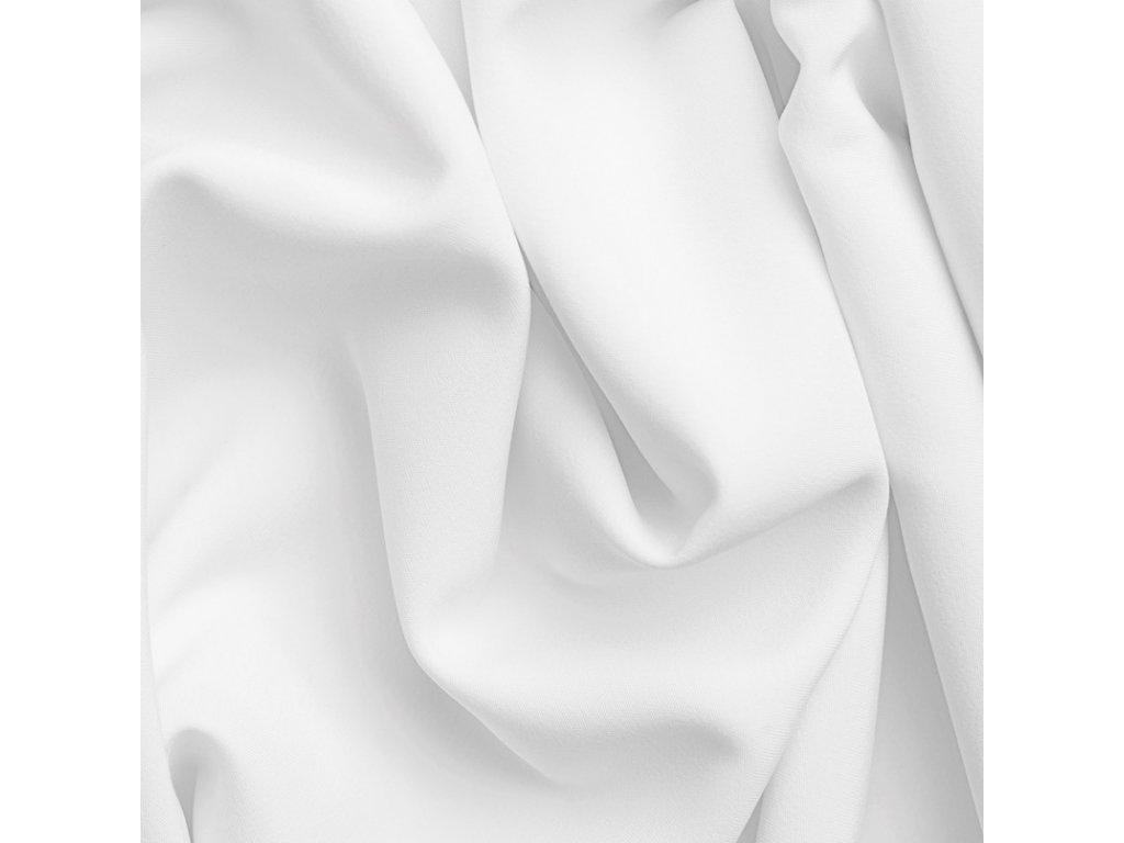 Látka bavlněné plátno bílé Noris