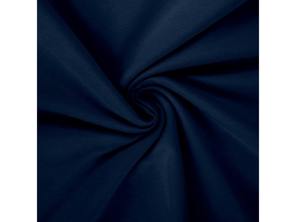 královská modrá pletenina
