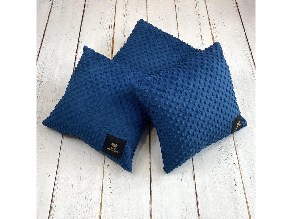 Dekorativní polštáře královská modrá SET