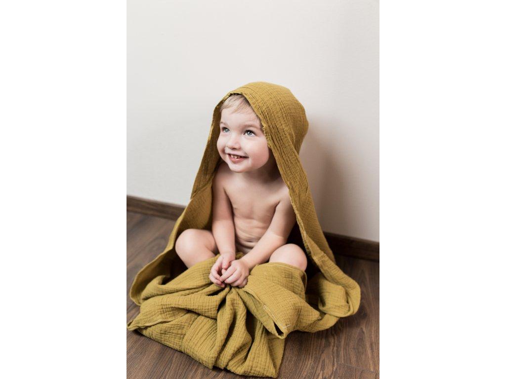 Dětská mušelínová osuška Mimoušek