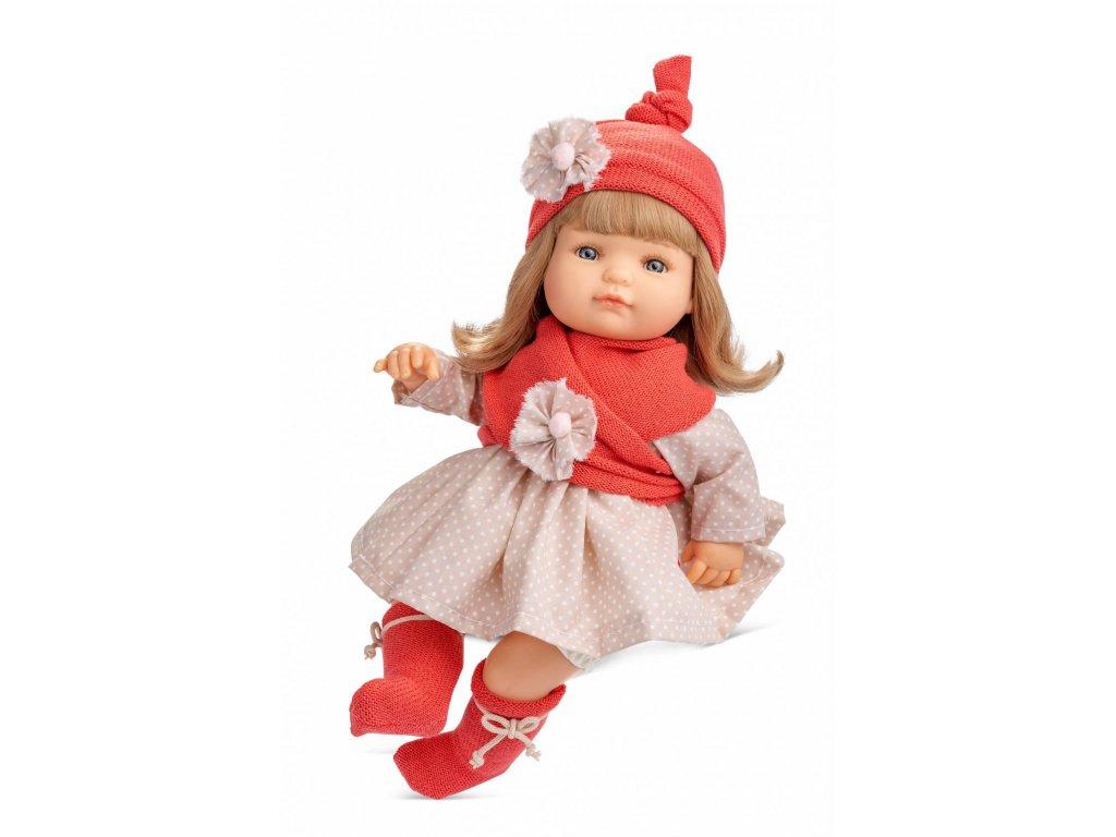 Berjuan Interaktivní panenka Claudia blondýnka 40cm