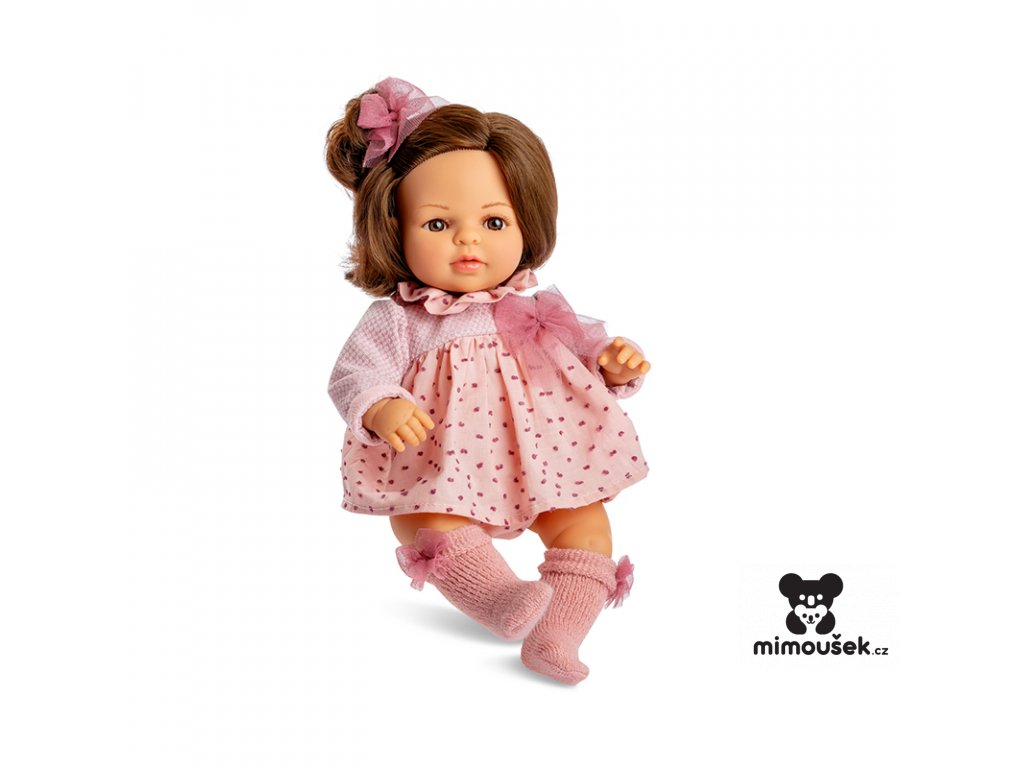 Berjuan Interaktivní panenka Laura brunetka 40cm
