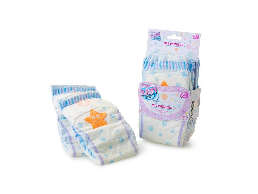 Berjuan Jednorázové plenky pro panenky Baby Susú