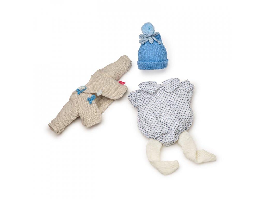 Berjuan Obleček pro panenky De Luxe Azul 38cm
