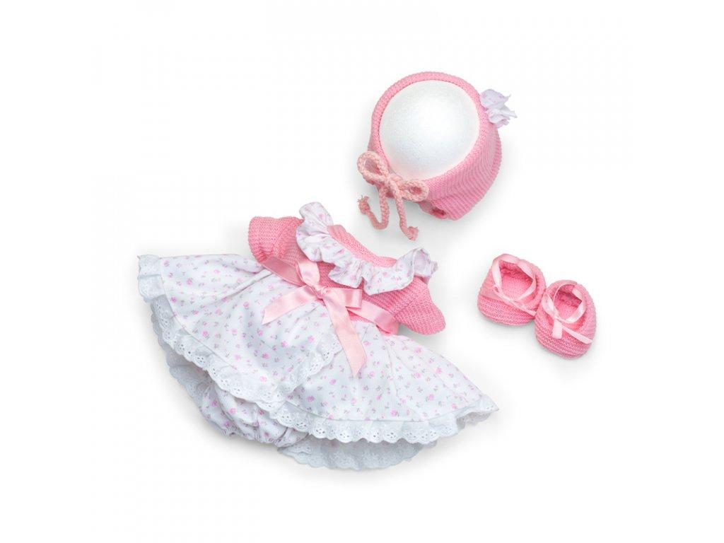 Berjuan Šatičky pro panenky De Luxe Rosa 38cm