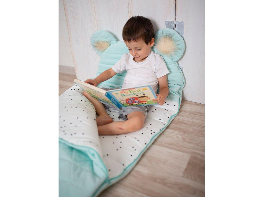 Kinder Hop Spací pytel Dream Catcher Triangles Aquamarine Velikost: 170x75