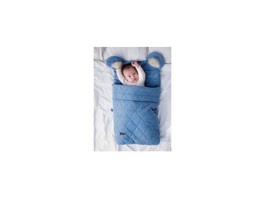 Kinder Hop Spací pytel 6v1 Dream Catcher Triangles Jeans