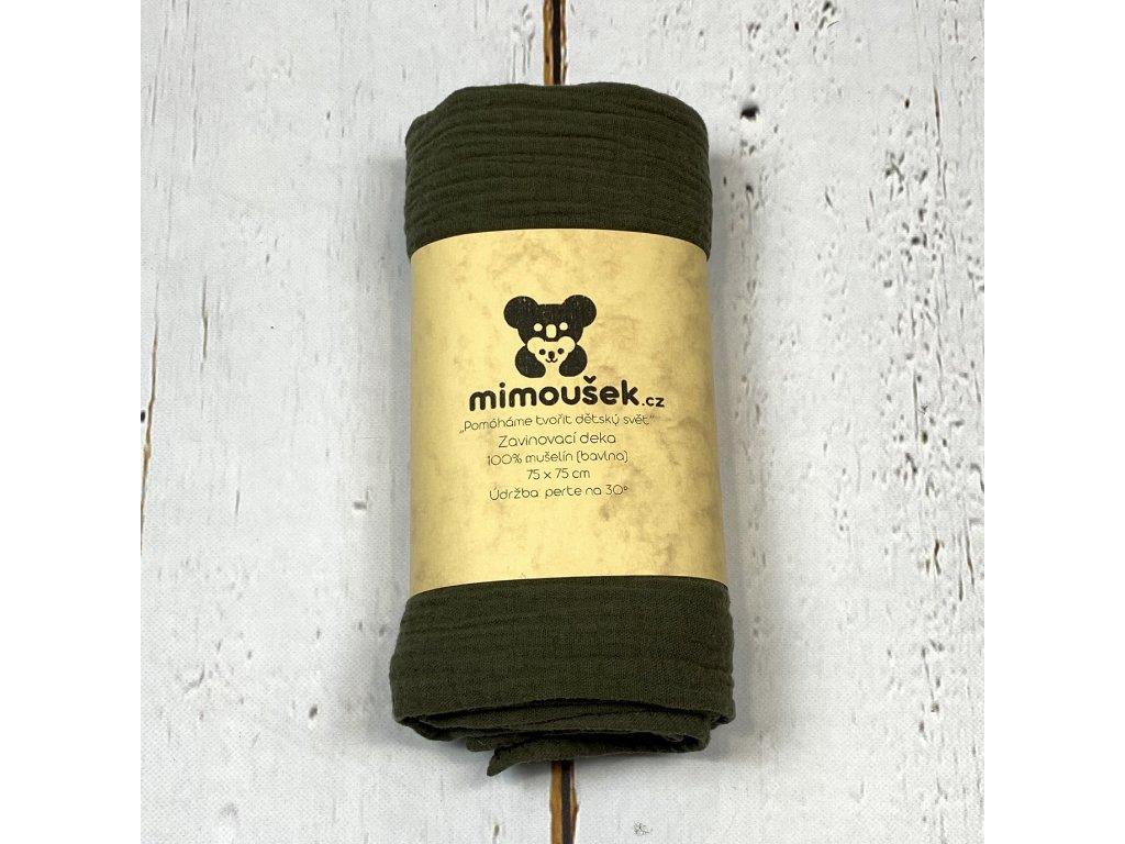 Mušelínová deka/plena zimní mech