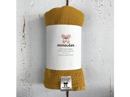 Mušelínová deka/plena mango mojito