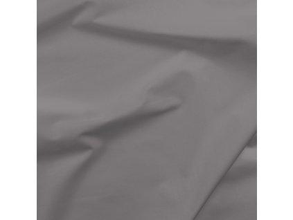 bavlněné plátno šedý flannel
