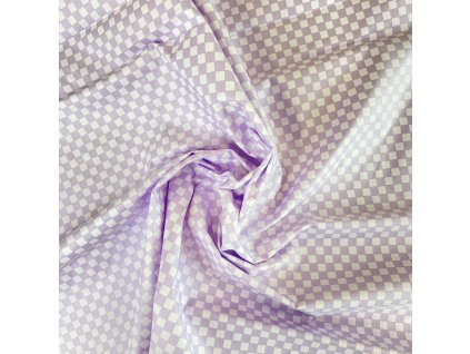 Látka sypkovina SULPA kostičky na fialové