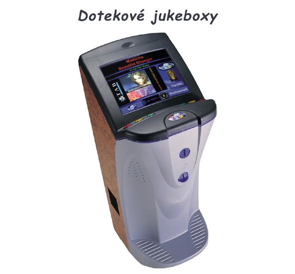 Dotekové zábavní automaty s Jukeboxem