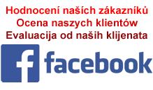 Hodnocení naších zákazníku na Facebooku