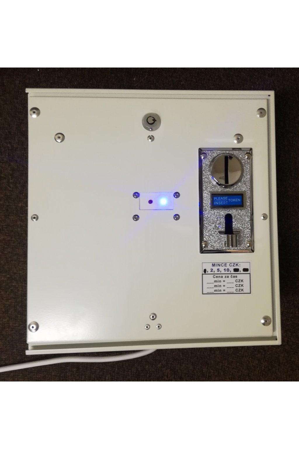Elektronický dveřní zámek s mincovníkem - elektronický zámek na mince