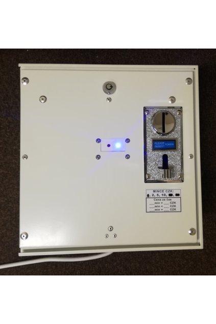 Elektronické ovládání dveřních zámků mincemi  Otevírání elektronických zámků dveří pomoci mincí