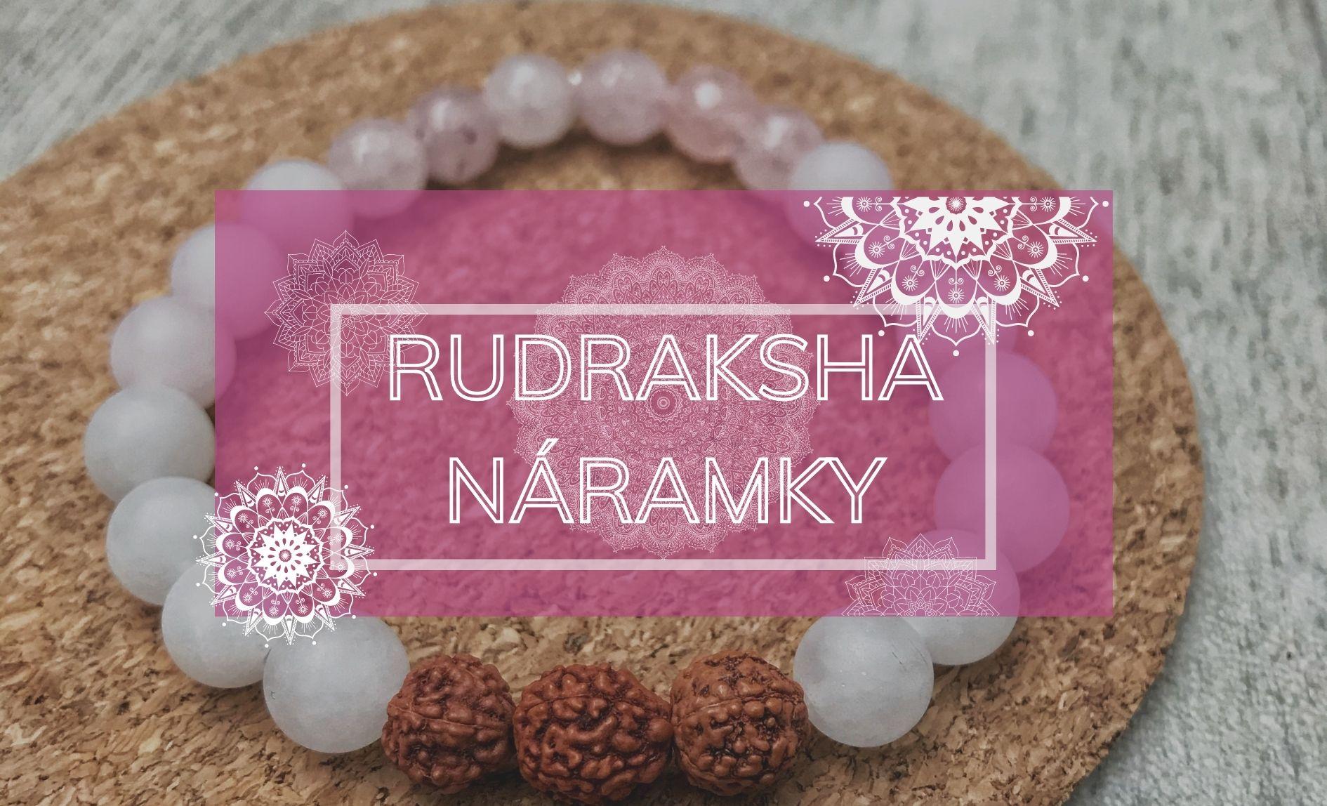 Rudraksha náramky