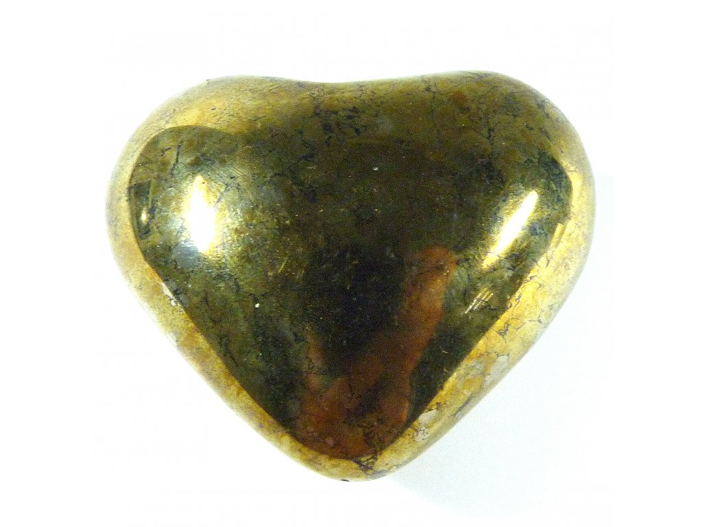 Chalkopyrit srdce