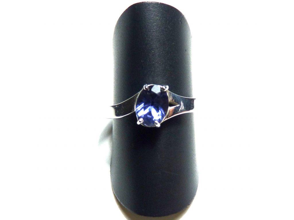 Cordierit prsten