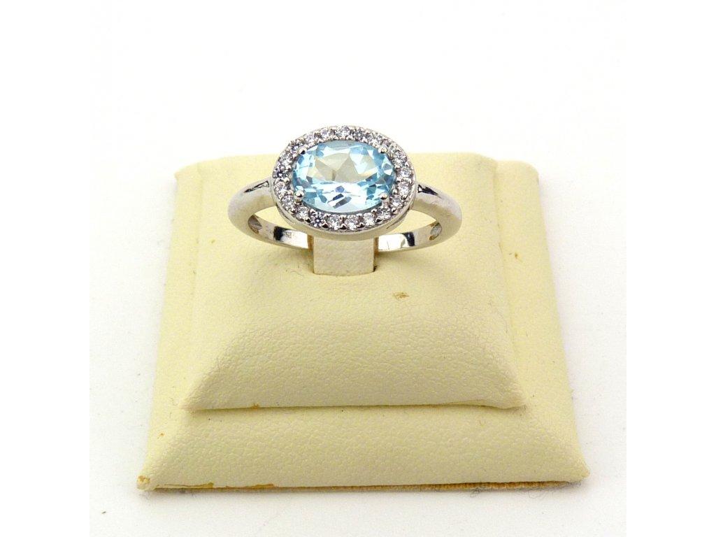 Topaz prsten