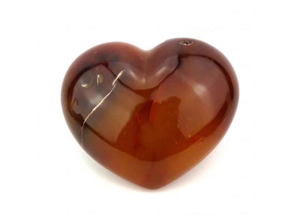 Karneol srdce