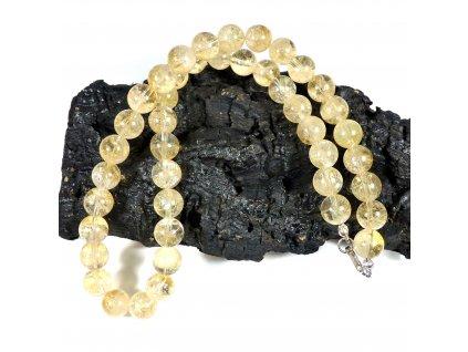 Citrín náhrdelník