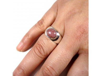Sluneční kámen prsten