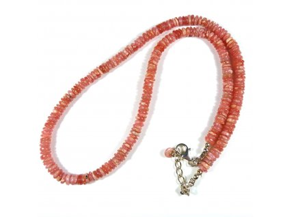 Rodochrozit náhrdelník