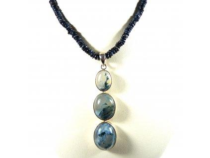 Pietersit náhrdelník