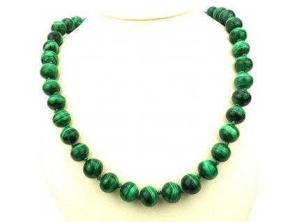 Malachit náhrdelník